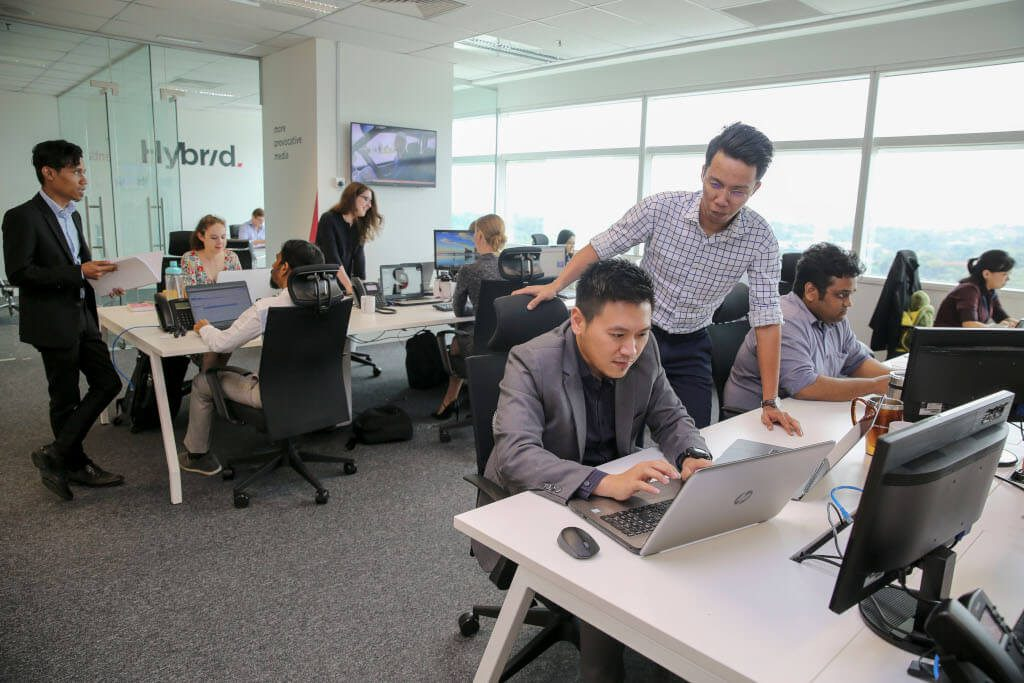 Hybrid jobs are now available in the Kuala Lumpur office of this media agency